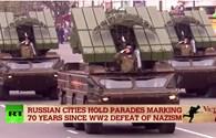 Cận cảnh loạt vũ khí Nga rầm rộ duyệt binh mừng 70 năm chiến thắng phát xít