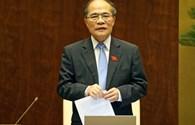Chủ tịch Quốc hội truy vấn, Bộ trưởng vòng vo