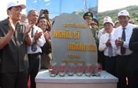 Lễ đặt viên đá đầu tiên xây dựng khu tưởng niệm nghĩa sĩ Hoàng Sa: Hoàng Sa trong tim tổ quốc