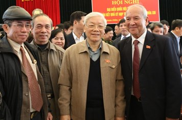 Ngày 8.3, Tổng Bí thư Nguyễn Phú Trọng sẽ tiếp xúc cử tri Hà Nội