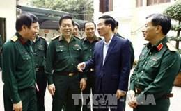 Trưởng Ban Tuyên giáo Trung ương làm việc với Báo Quân đội Nhân dân