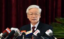 Toàn văn phát biểu bế mạc Hội nghị T.Ư 5 của Tổng Bí thư Nguyễn Phú Trọng