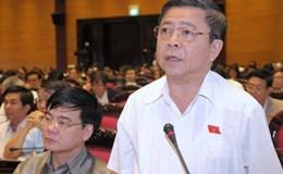 Thường vụ Quốc hội cho thôi nhiệm vụ ĐBQH đối với ông Võ Kim Cự