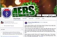 Bộ Y tế mở trang tuyên truyền phòng chống MERS-CoV trên Facebook