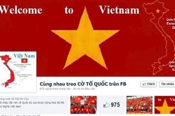 """Trào lưu nhuộm đỏ Facebook 2.9 của giới trẻ bị """"phản pháo"""""""