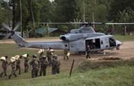 Trực thăng Mỹ chở 8 người mất tích trong khu vực động đất Nepal