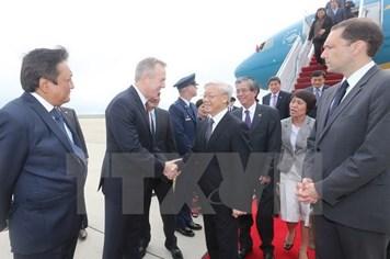 Tổng Bí thư trao đổi với Đại diện Thương mại Hoa Kỳ về thúc đẩy đàm phán TPP của Việt Nam
