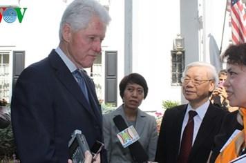 """Bill Clinton hé lộ """"điều khó khăn nhất'' bình thường hóa quan hệ VN-Mỹ"""