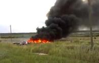 Video mới nhất về vụ MH17 ngay sau khi máy bay rơi xuống