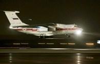 Những thi thể đầu tiên của nạn nhân vụ rơi máy bay Nga đã về nước