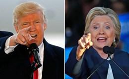 Lo ông Trump áp đảo, bà Clinton tìm cách bảo toàn phiếu bầu