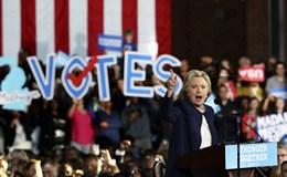 33 triệu người Mỹ đã lựa chọn chắc chắn tổng thống mới