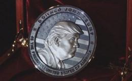 Công ty Nga đúc tiền mừng lễ nhậm chức của ông Trump