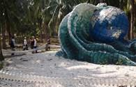 Vườn sinh thái hình thành từ…rác thải