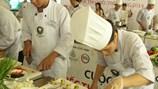 """Cuộc thi """"Chiếc thìa vàng"""" khu vực Nam Trung Bộ diễn ra tại Nha Trang: Nhóm đầu bếp khách sạn Hải Âu (Qui Nhơn) giành giải nhất"""