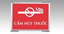 80% khu vực thực hiện Dự án không còn việc hút thuốc tại nơi làm việc, nơi công cộng
