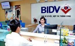 6 tháng, lợi nhuận BIDV đạt 4.050 tỷ đồng, nợ xấu giảm mạnh