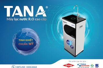 Máy lọc nước R.O Tân Á Hydrogen Rich đạt quy chuẩn quốc gia của Bộ Y tế