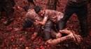 Sắc đỏ tràn ngập trong lễ hội ném cà chua ở Colombia