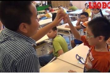 Video: Thần đồng Đỗ Nhật Nam dạy gì cho các em nhỏ Việt Nam dịp hè?