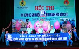 LĐLĐ tỉnh Khánh Hòa: Tổ chức Hội thi An toàn vệ sinh viên giỏi 2017