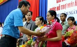 LĐLĐ tỉnh Khánh Hòa: Gặp mặt 15 gia đình CNLĐ được hỗ trợ Mái ấm Công đoàn