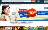 Cổng thanh toán trực tuyến 25 triệu người dùng 123Pay mở trên Lazada