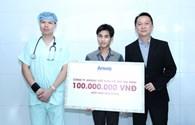 Cặp song sinh dính liền ở Hà Giang đã có thêm 100 triệu đồng hỗ trợ viện phí
