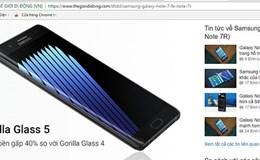 """Rộ tin đồn Galaxy Note """"nổ"""" tân trang sẽ bán chính thức tại Việt Nam"""