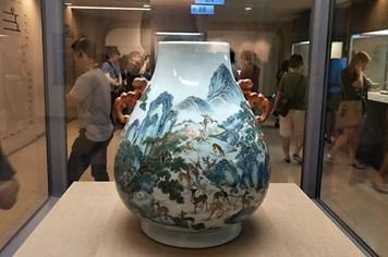 Đẹp mê hồn bộ sưu tập đồ gốm sứ tại Bảo tàng Cố Cung Đài Loan