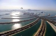 Choáng ngợp trước vẻ đẹp của Dubai nhìn từ trên không