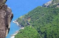 Ngắm vịnh Vũng Rô từ trên đỉnh đèo Cả