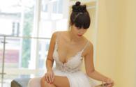 Chiêm ngưỡng váy cưới sexy đến nghẹt thở của siêu mẫu Hà Anh