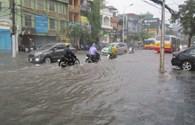 Bão số 3: Hà Nội nhiều khu dân cư, đường phố bị ngập nước