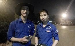 Sinh viên Thanh Hóa tiếp tục bán dưa hấu giúp người dân Quảng Ngãi