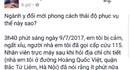 Trung tâm Cấp cứu 115 Hà Nội xin lỗi gia đình bệnh nhân