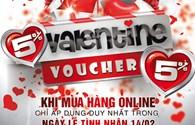 Những chương trình giảm giá, khuyến mại đặc biệt mùa Valentine 2014