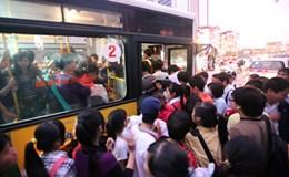 Hà Nội chưa có xe buýt dành riêng cho phụ nữ vào ngày 5.1.2015