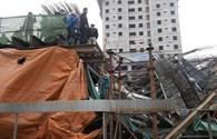 Video vụ sập dầm đường sắt trên cao, 4 người suýt chết