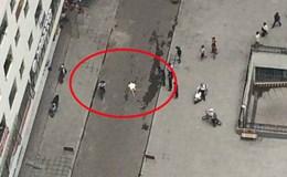 Hà Nội: Cô gái trẻ rơi từ tầng cao khu Linh Đàm xuống đất tử vong