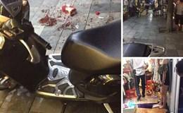 Giữa phố cổ Hà Nội: Cầm dao xông vào cửa hàng quần áo chém gục cô gái trẻ