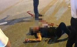 Một thanh niên bị đâm gục trên đường Võ Chí Công, Hà Nội
