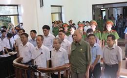 Ngày thứ 2 xét xử 14 cán bộ liên quan đến sai phạm đất tại Đồng Tâm