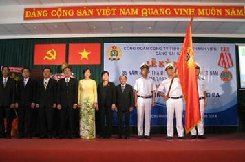 Công đoàn Cảng Sài Gòn đón nhận Huân chương Độc lập hạng ba