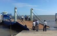 Phà Bình Tân qua sông Cửa Đại sẽ hoạt động dịp Tết Nguyên đán 2017