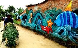 Ngắm làng 3D ở Quảng Ngãi