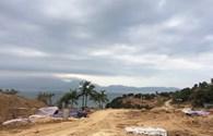 Phạt 40 triệu đồng vì xây 40 móng biệt thự không phép trên núi Sơn Trà