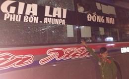 Truy tìm nhóm đối tượng ném đá xe khách trên đường Hồ Chí Minh