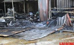 Một trong hai nạn nhân trong vụ cháy ở huyện Hoài Đức phải thở máy