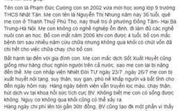 Hà Nội: Người thứ 6 tử vong do sốt xuất huyết, một tuần gần 3.000 ca mắc mới